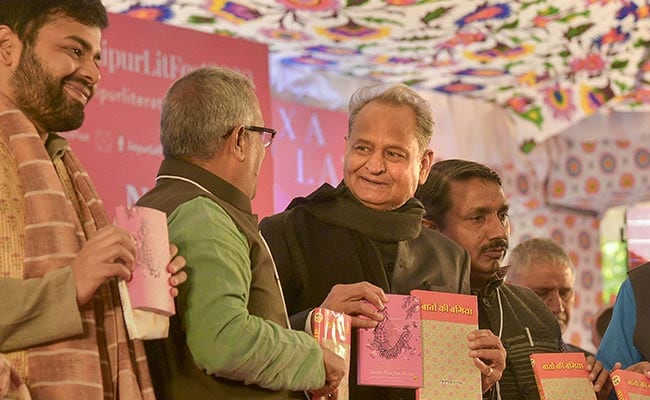 Jaipur Lit Fest For Both 'Mann Ki Baat' And 'Kaam Ki Baat': Ashok Gehlot
