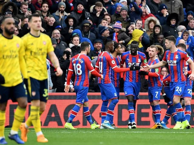 Arsenal Held To Draw At Crystal Palace After Pierre-Emerick Aubameyang Sees Red