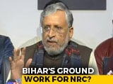 "Video : ""Bihar NPR From May 15,"" Says Sushil Kumar Modi, JDU Leader Casts Doubt"