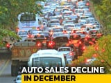 Video : Domestic Car Sales Decline 8.4% In December; Production Down 12.5%: SIAM
