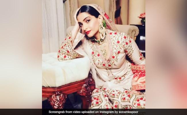 When Sonam Kapoor Channelled Her Inner Anarkali In London