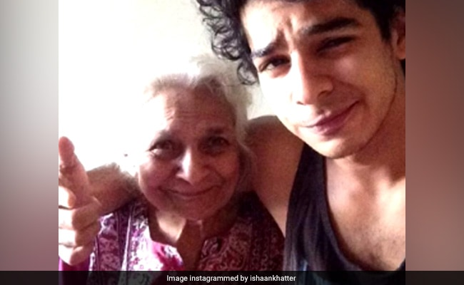Ishaan Khatter's Heartbreaking Post On Death Of Grandmother: 'You'll Never Be Forgotten'
