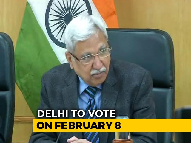 Video: Delhi Votes On February 8, Results On February 11