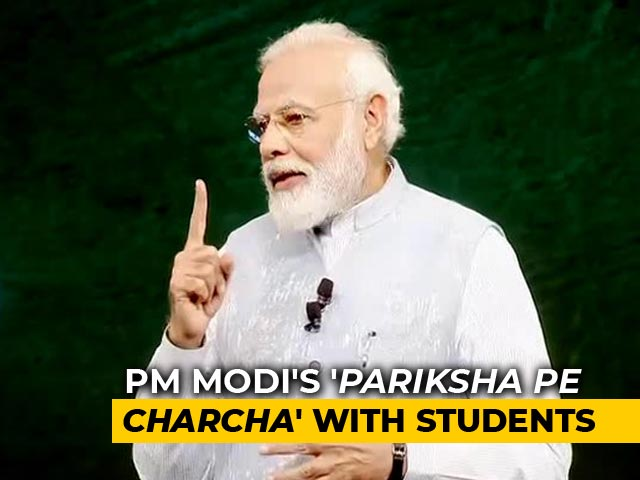 Video: 'Let's Talk #WithoutFilter,' PM Tells Students At 'Pariksha Pe Charcha'