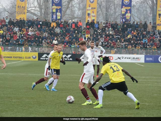I-League: Mohun Bagan Go Top After 2-0 Win Over Real Kashmir