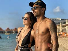 Natasa Stankovic And Hardik Pandya's Throwback Pic Is All About Sun, Sand And Sea