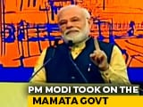 Video : No Cut Money So Mamata Banerjee Blocking Central Schemes, Taunts PM Modi