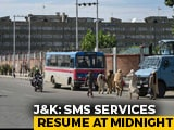 Video : SMS Service In Kashmir, Shut For 5 Months, Restored Today