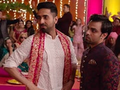 An Interfering Dad Can't Stop Epic Ayushmann-Jitendra Kiss In 'Gabru'