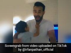TikTok पर दिखा क्रिकेटर इरफान पठान का अलग ही अंदाज, बेटे के साथ यूं मस्ती करते आए नज़र
