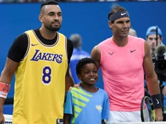 """Goosebumps"": Nick Kyrgios Walks Out Wearing Kobe Bryant's Jersey For Clash With Rafael Nadal. Watch"