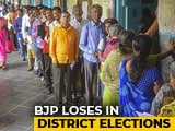 Video : Sena, NCP, Congress Score In Maharashtra District Polls, BJP Loses Nagpur