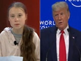 Video: NDTV At Davos: Donald Trump And Greta Thunberg The Showstoppers