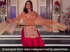 जरीन खान के पंजाबी लुक ने ढाया कहर, यूं झूमकर नाचीं सलमान खान की एक्ट्रेस...देखें Video
