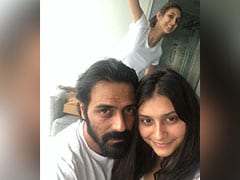 Pic: The One With Arjun Rampal, Mahikaa And 'Photobomb Specialist' Myra