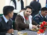 Video: <i>Jai Jawan</i>: Varun Dhawan Chats With IAF Soldiers Over Lunch