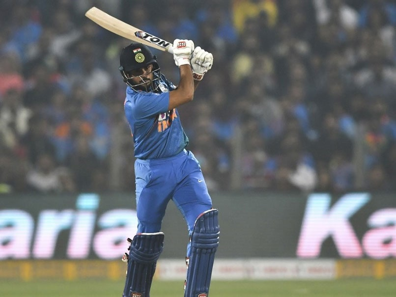 3rd T20I: Manish Pandey Happy To Contribute To India