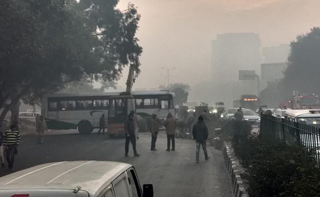 Rajasthan Roadways Bus Overturns In Delhi, Conductor Killed