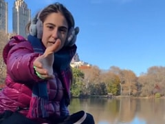 '<I>Namaste Darshako</i>': Sara Ali Khan Is Back As Central Park Tour Guide. Try Not To Laugh