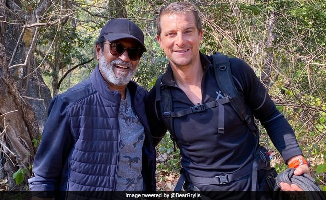 'Love You': Rajinikanth Thanks Bear Grylls For 'Unforgettable Experience'