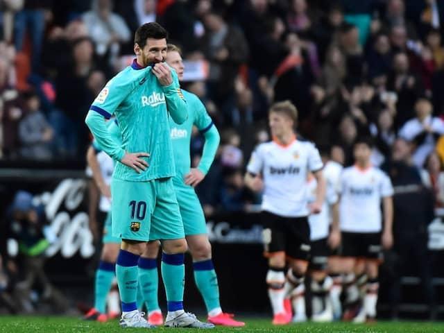 La Liga: Barcelona Lose To Valencia In Early Setback For Quique Setien