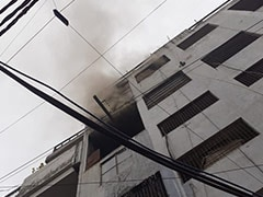 Fire At Footwear Factory In Delhi, 26 Fire Engines Rushed To Site