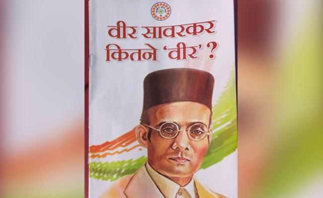 Row Over Booklet Circulated By Congress Seva Dal In Madhya Pradesh