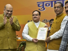 JP Nadda Elected Unopposed As BJP Chief, Takes Over From Amit Shah