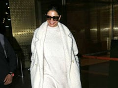 Deepika Padukone Shows Winter Who's Boss In Pristine White