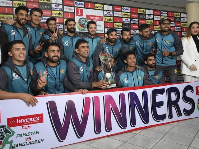 Pakistan vs Bangladesh: Pakistan Win 3-Match Series 2-0 After 3rd T20I Against Bangladesh Is Washed Off