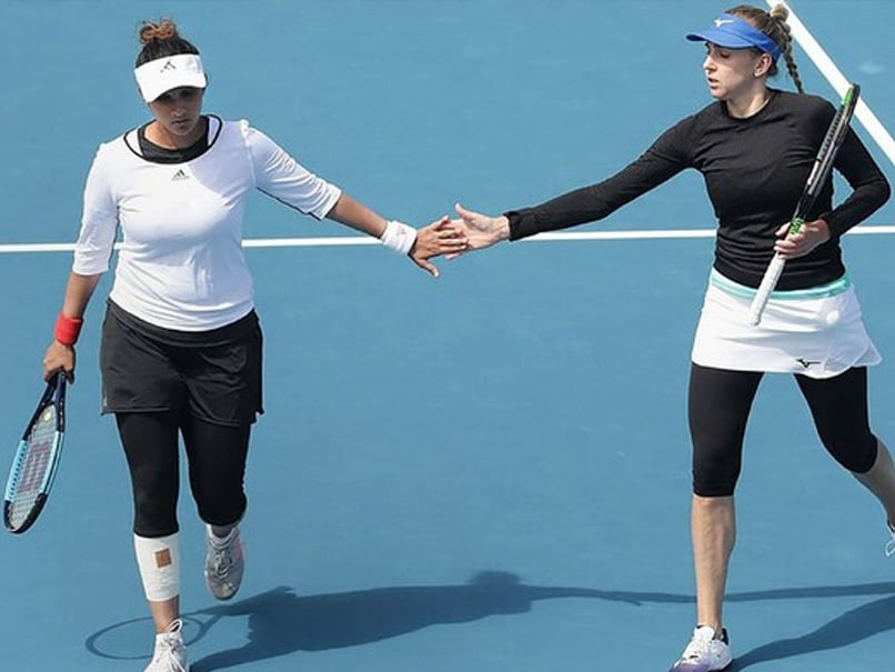 Australian Open: Sania Mirza Retires From Her First Round Womens Doubles Match