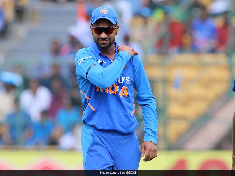 IND vs AUS 3rd ODI: Shikhar Dhawan Injures Shoulder, Taken For X-Ray