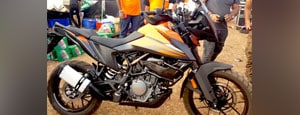 First Look: KTM 390 Adventure