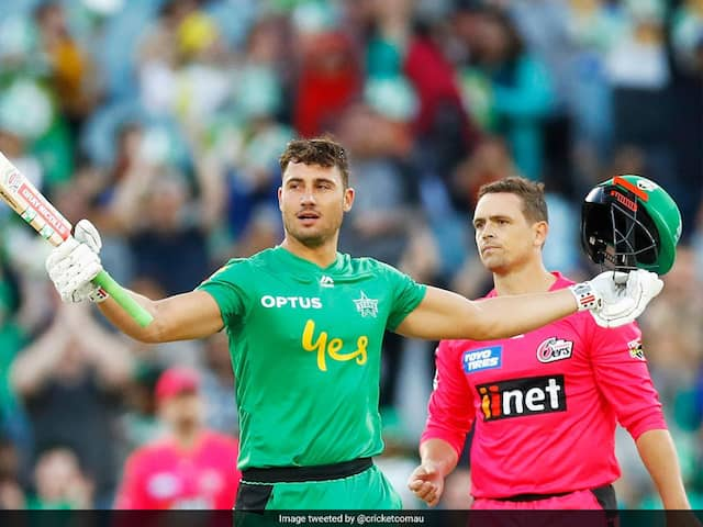 """Watch: Marcus Stoinis Breaks Multiple Big Bash League Records With """"Outrageous"""" Knock"""