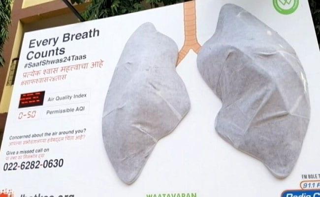 Artificial Lungs Put Up In Mumbai Start Turning Black Within A Week