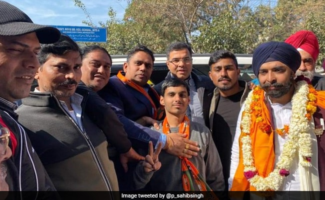Election Body Notice To BJP's Tajinder Pal Singh Bagga Over Campaign Song