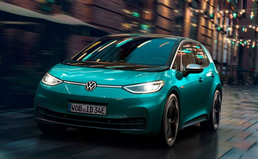 The VW Group has been rolling out electric cars like the compact ID.3 to the high end Porsche Taycan