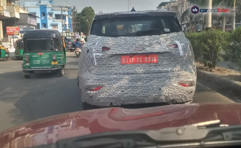 MG Hector Seven-Seater Spotted Testing In India