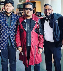 AR Rahman At The Grammys With Son Ameen. Look Who They Bumped Into