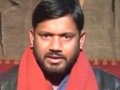 Stones Thrown At Left Leader Kanhaiya Kumar's Convoy Near Arrah In Bihar