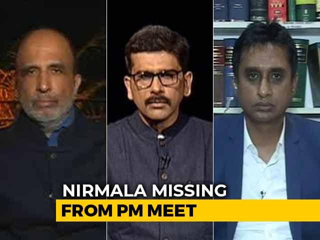 Video : PM Modi's Big Budget Meet: Finance Minister Missing?