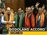 "Video : ""Historic Accord"" Says Amit Shah As Bodo Agreement Signed"
