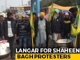 Video : Punjab Farmers Set Up Langar, Support Delhi's Shaheen Bagh Protesters