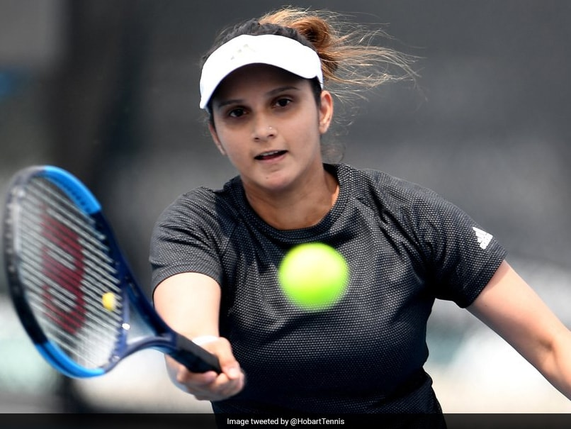 Sania Mirza Through To Womens Doubles Semifinals Of Hobart International