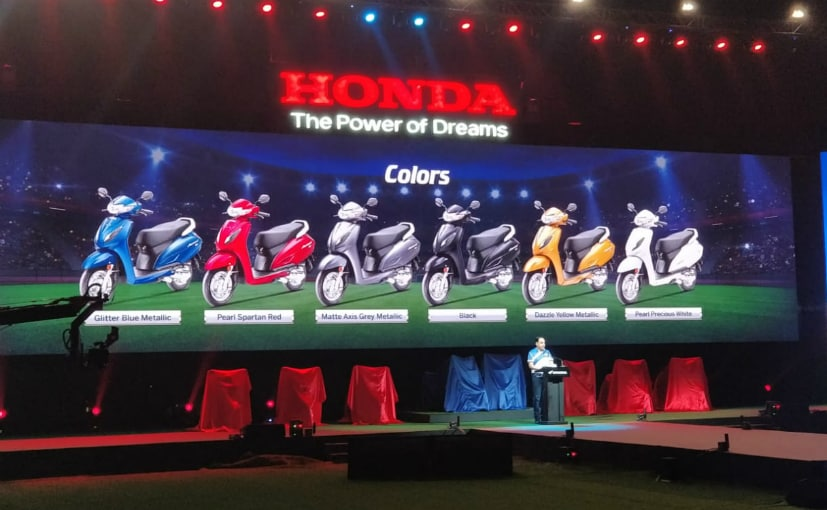 2020 Honda Activa 6G Launched In India; Prices Start At Rs. 63,192