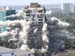 Watch: Kochi Luxury Flats Come Crashing Down In Seconds During Demolition