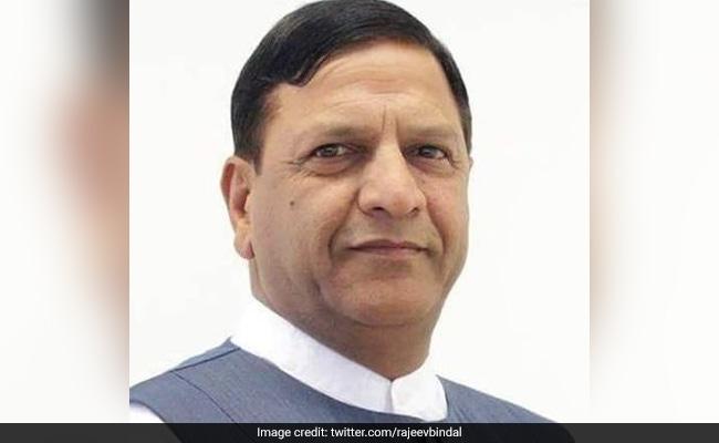 Rajeev Bindal Appointed Himachal Pradesh BJP President