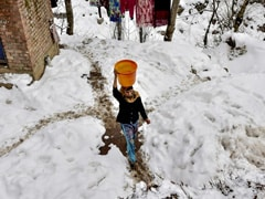 Cold Wave Grips Kashmir, Gulmarg Records Minus 11 Degrees