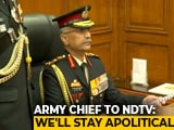 Video : New Army Chief On Real Challenges