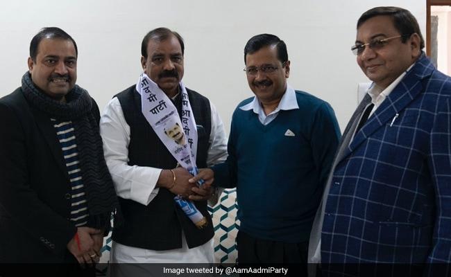 Congress's Jagdish Yadav Joins AAP Ahead Of Delhi Elections
